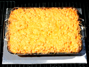 Macaroni and Cheese on the grill